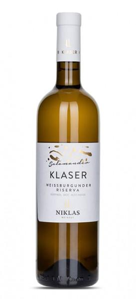 Niklaserhof Weissburgunder Riserva DOC Klaser Salamander 2017