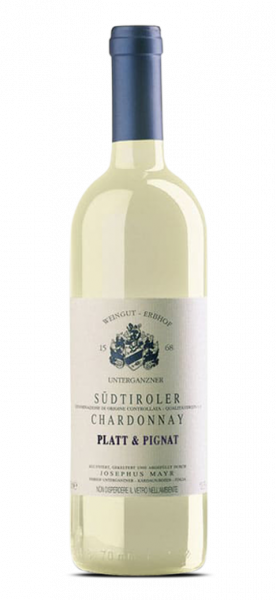 Erbhof Unterganzner Chardonnay DOC Platt & Pignat 2020