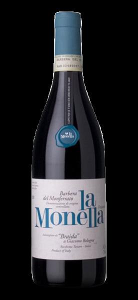Braida Barbera del Monferrato frizzante DOC La Monella 2019