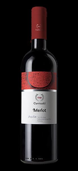 Canicatti Merlot IGP Aquilae 2018