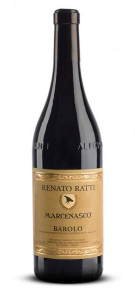 Renato Ratti Barolo DOCG Marcenasco 50th anniversary vintage 2015
